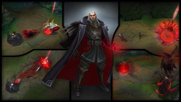 League Of Legends Patch 83 Swain Rework And Chogath Visual Update
