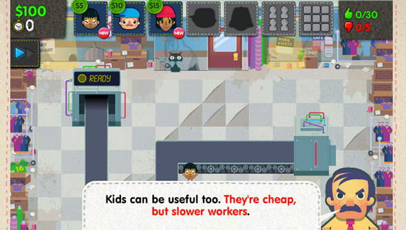 sweatshop pc game