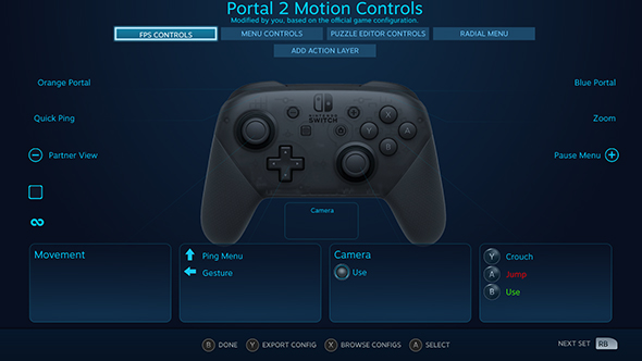 switch pro controller pc steam