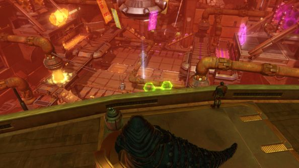 Pyramid scheme: The Old Republic's PvP Huttball to get a vertical makeover on April 8