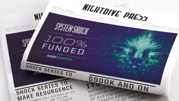 System Shock reboot Kickstarter fully funded with 18 days to go