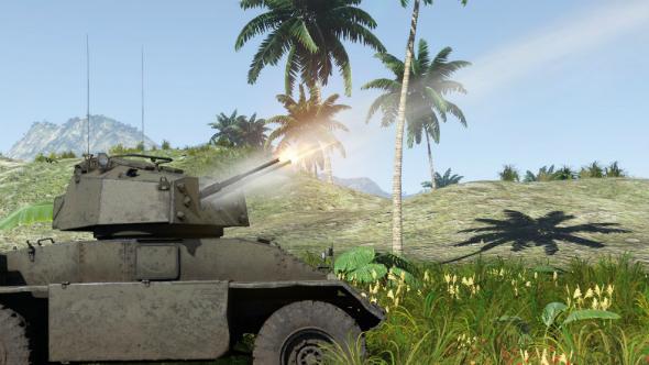 Russian Tank Drop