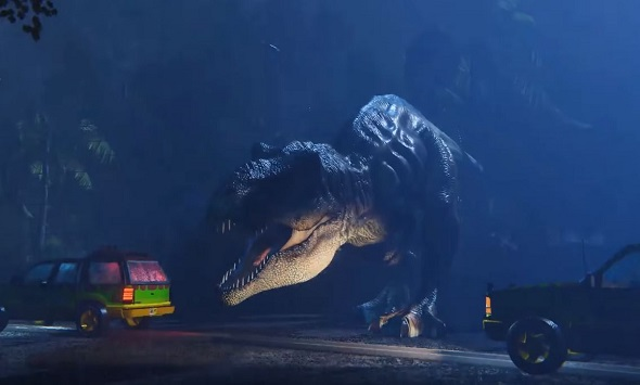 Jurassic Park's T-Rex attack recreated in VR with Unity