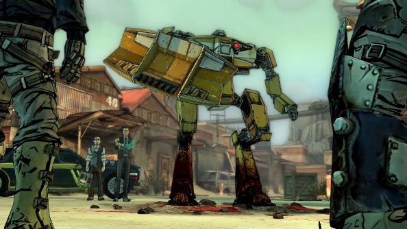 "Tales from the Borderlands starting ""soon""; watch the first in-game trailer while you wait"