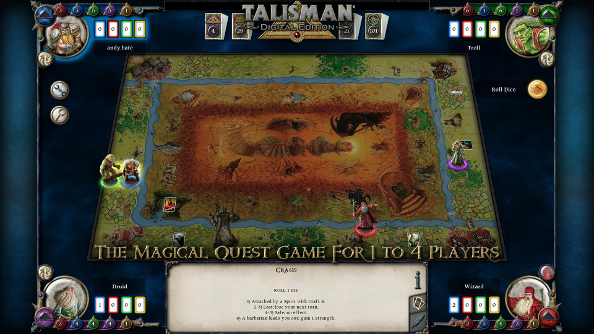 We've five Steam copies of Talisman cluttering our digital desks: please take them off our hands