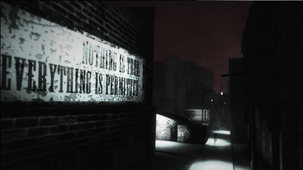 Tangiers is Thief set in a surreal jigsaw puzzle world which reacts to your actions
