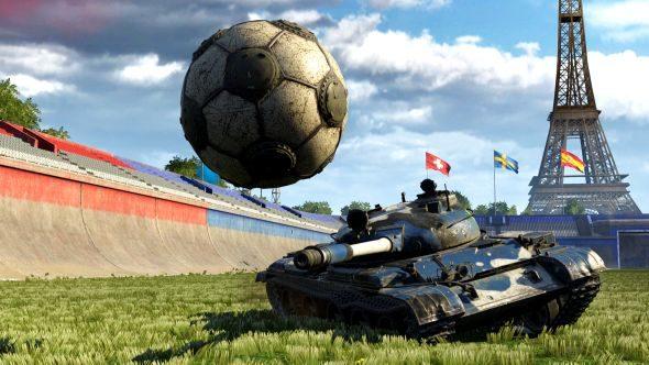 World of Tanks Tank Football