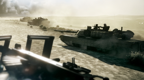 What is Battlefield 3 Tank Superiority mode ?