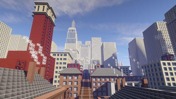 Tate Worlds in Minecraft