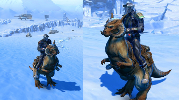 Star Wars: The Old Republic to get a tauntaun mount
