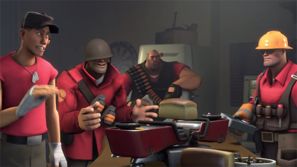 You wait years for an official TF2 short and then a 15 minute film teleports in