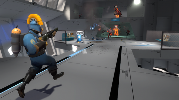 Valve launch new Team Fortress maps and Robot Destruction mode in 'Early Access'