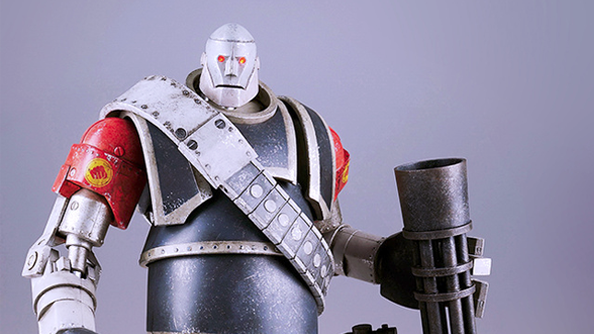 Team Fortress 2 robot figurines are quite the thing