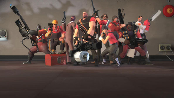Team Fortress 2 on Mac and Linux relies on OpenGL.