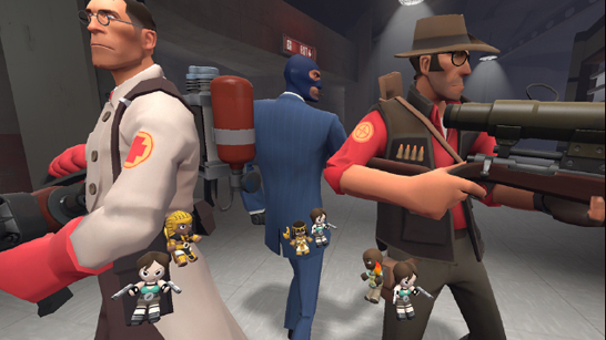 Team Fortress 2 patch sees bots fill in for Competitive quitters and rematches for Casual