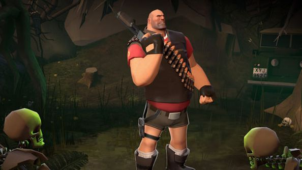 Team Fortress 2 Tomb Raider item contest (inevitably) puts the Heavy in short shorts