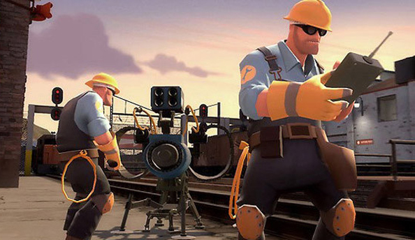 Team Fortress 2 update incoming. Fixes exploits and adds two new maps