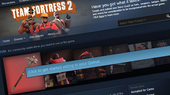 Team Fortress 2 Workshop hammered into better shape