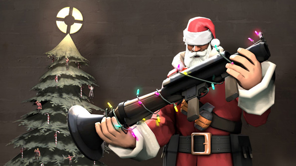 Festive Christmas crates have just started appearing in Team Fortress 2