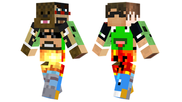 best minecraft skins team youtube