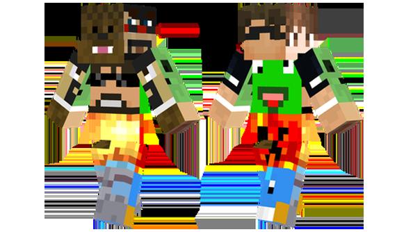 The Best Minecraft Skins PCGamesN - Skin para minecraft o
