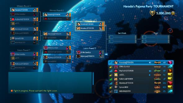 Tekken 7 tournament bracket
