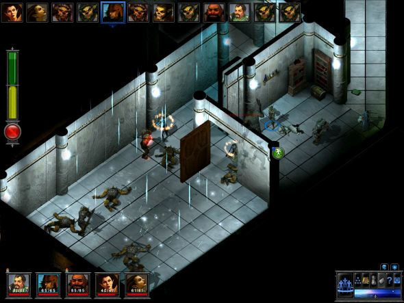 Temple of Elemental Evil, Troika's second game which Boyarsky didn't work on much