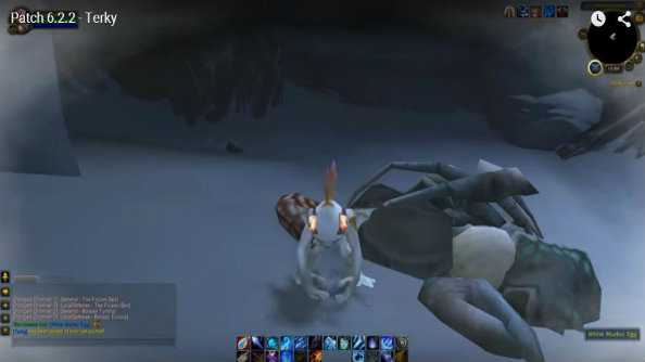 World of Warcraft patch 6.2.2 lets you get Terky the pet, if you know where to look