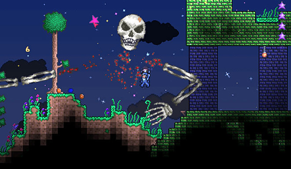 Terraria's developers would like to know what to put in a new update please