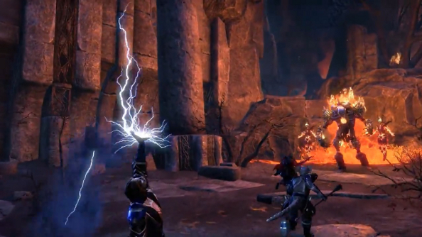 Craglorn is The Elder Scrolls Online's first Adventure Zone, and it's not for riffraff
