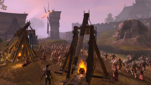 The Elder Scrolls Online wants to remind you it's launching today with a flashy trailer