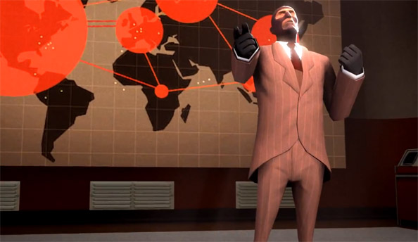 Mercurial: Watch TF2's spy tackle a Queen number