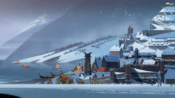 Stoic launched the single player part of The Banner Saga in January. We gave it a nice review.