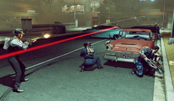 The bureau xcom declassified trailer intersperses in game for Bureau 13 gameplay