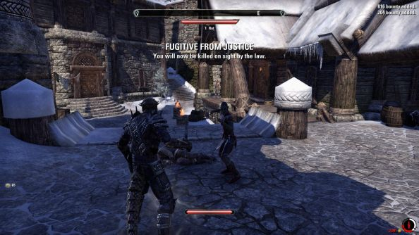 The Elder Scrolls Online NPCs to be murdered and mugged by players after Christmas