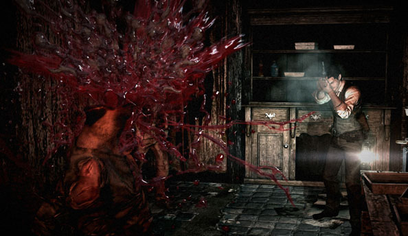 Bethesda have spilled red wine all over this round of The Evil Within screenshots. Unless... Oh.
