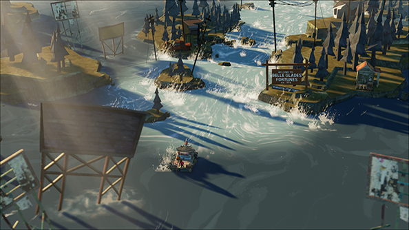 the flame in the flood molasses flood kickstarter