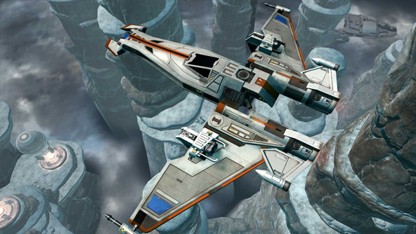 The Old Republic Galactic Starfighter expansion brings the dogfight to (some) non-subscribers