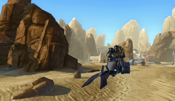 Star Wars: The Old Republic patch 1.6.3 will stop you falling off your speeder so much