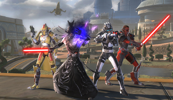 "The Old Republic's free-to-play option brings in thousands of new players ""every single day"""
