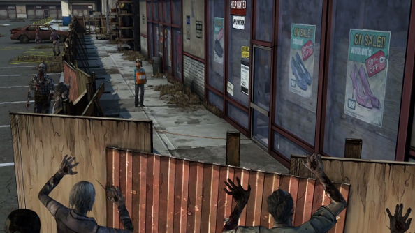 The Walking Dead Season 2, and a not-so-helpless Clementine.