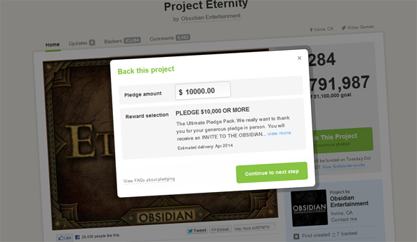 The other 1%: meet Kickstarter's mega-backers