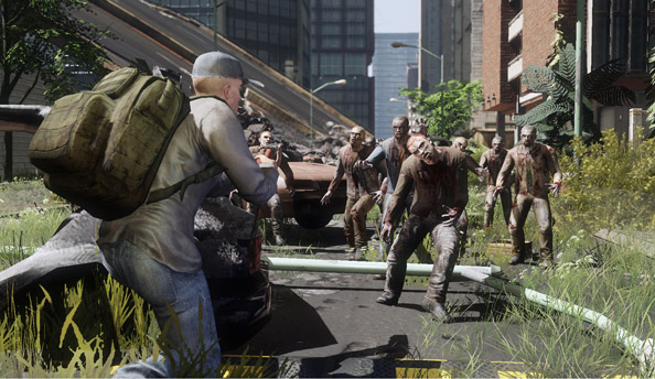 "The WarZ developers ""don't mind being compared to DayZ at all"""