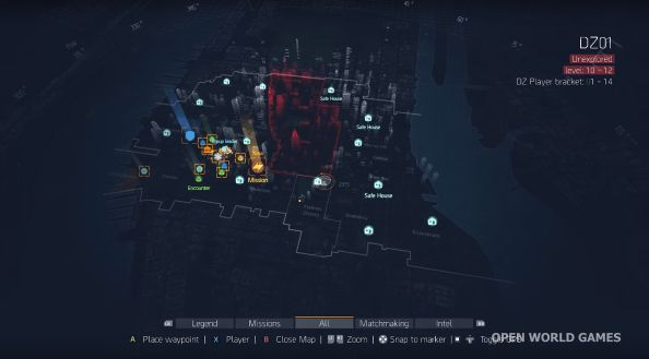 The Division final map