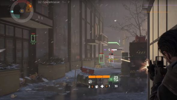 The Division wallhacks