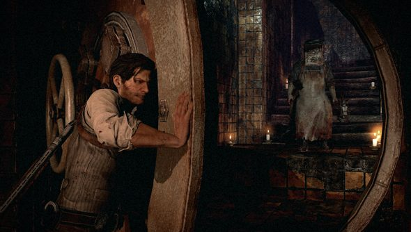 The Evil Within: safely contained behind vault doors, apparently.