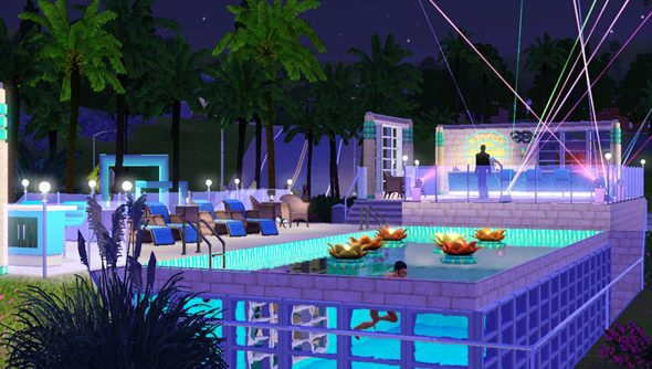 The sims 4 will launch without swimming pools and toddlers for Pool design sims 3