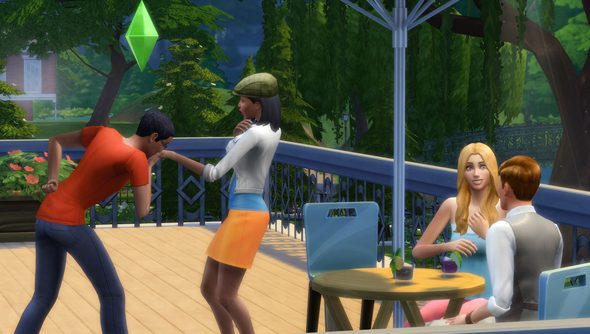 The Sims 4: angry, anxious, and everything in between.