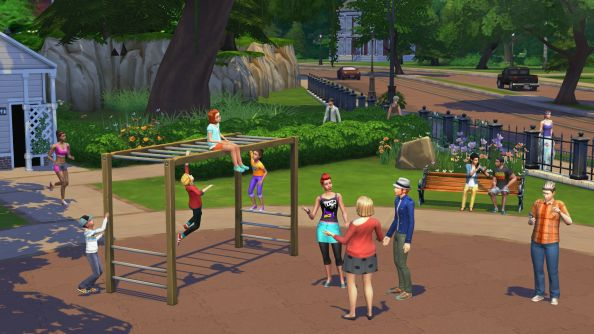 The Sims 4: child-heavy, but toddler-free.