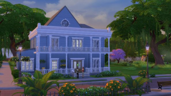 The Sims 4: what sort of premium member lives in a house like this?